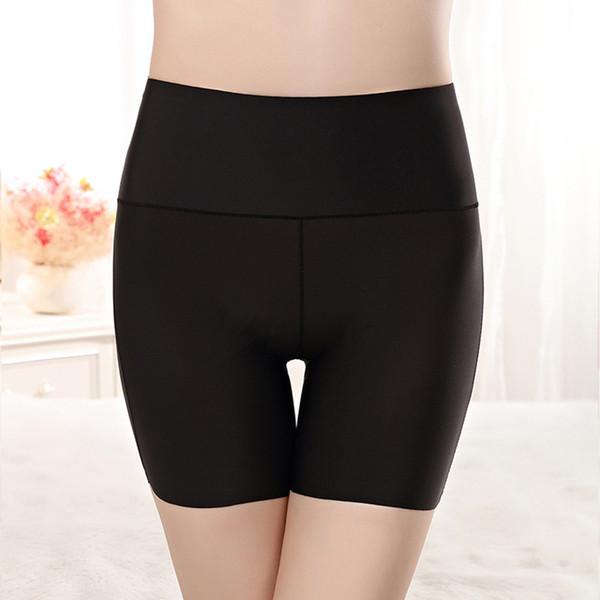Safety Shorts Pants Women Seamless Nylon High Waist Panties Seamless Anti Emptied Boyshorts Pants Girls Slimming Tight Underwear