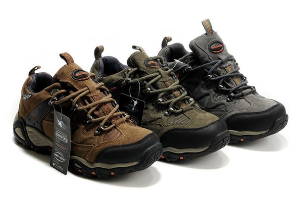 Men Women Outdoor Shoes Breathable Camping Climbing Rubber Anti-Slip Hunting Fishing Hiking Shoes New High Low Cut Wear-resistant