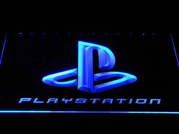 e175 Playstation LED Neon Light Signs with On/Off Switch 20+ Colors 5 Sizes to choose