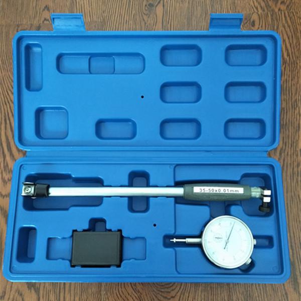 best selling Dial Bore Gauge Hole Diameter Gauge Inside Diameter Scale Cylinder Volume Meter Dial indicator Micrometer 10-18-35-50-160MM
