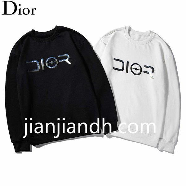 Original 2019 fashion trend letter printing round neck pullover sweatshirt men's autumn high-end personality casual jacket 720 652#