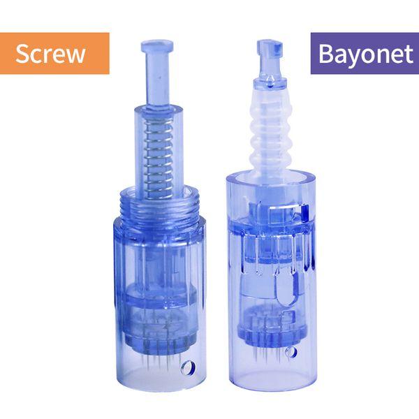 Cartouche d'aiguilles pour Dr Pen A6 Nano / 9 broches / 12 broches / 36 broches / 42 broches Remplacement de micro aiguille tête de stylo Derma