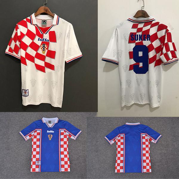 CROATIA SOCCER JERSEY VINTAGE WORLD CUP