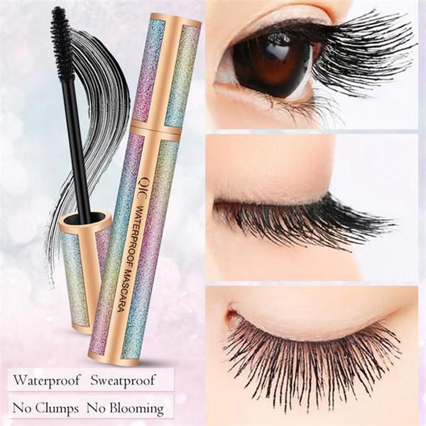 best selling QIC Starry Eyeliner Matte Black Color 4D Long Mascara Waterproof Long Lasting Super Slim 3D Liquid Eye Liner Tattoo Pen No Fading