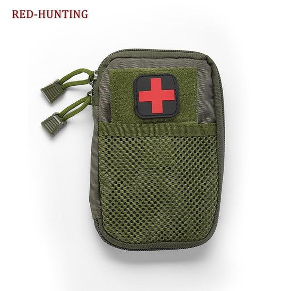 Молле тактические сумки EDC армия вентилятор спортивная сумка талии ж / Красный Крест наклейки военный боевой карман охотничья сумка #359501