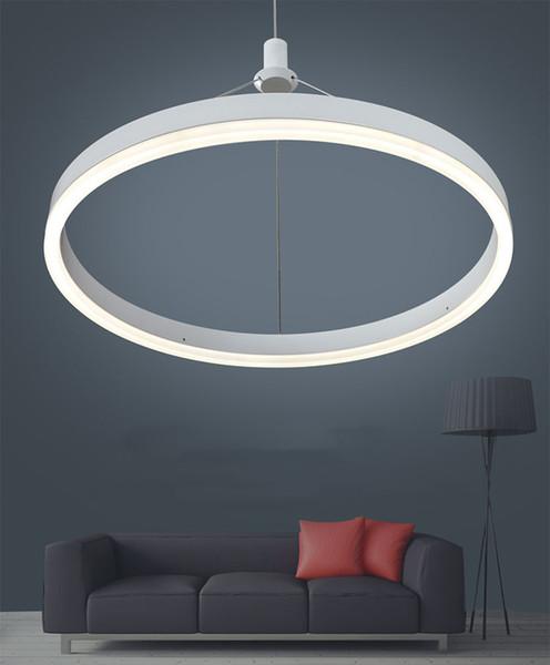 Großhandel Moderne Hängende Led Lampe Wohnzimmer Schlafzimmer Esszimmer  Küche Kreis Led Pendelleuchte110 V`260 V Von Huxiaoan, $135.68 Auf ...
