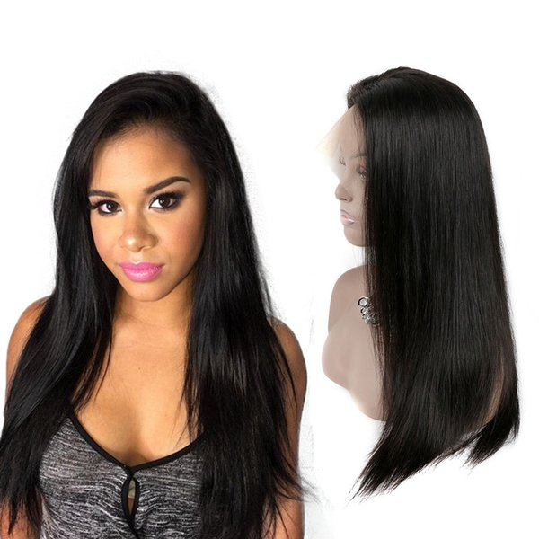 New Arrival Indian Mlaysian Peruvian Human Hair Lace Front Wigs 100% Unprocessed Virgin Hair Wigs For black Women Factory Direct Sale