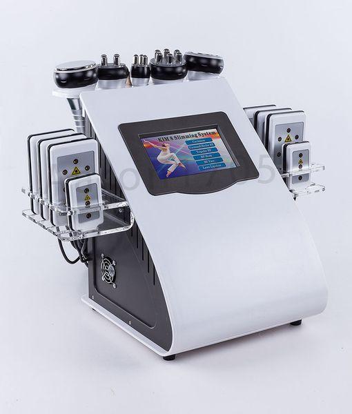 Nuova promozione 6 in 1 ultrasuoni cavitazione vuoto radiofrequenza laser dimagrante macchina di bellezza per salone