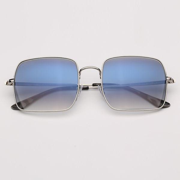 Sliver-Blue Gradient