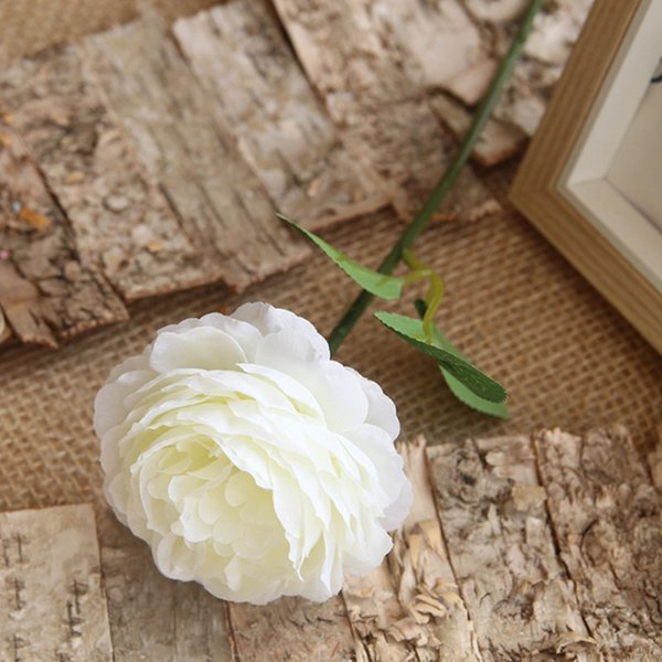 Yiwu fábrica de seda atacado buquê de flores peônia artificial para decoração de casamento de plástico ao vivo da flor do hydrangea bouquet