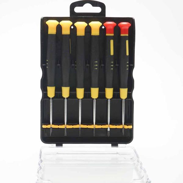 Screwdriver Tools Set 6 in 1 Multifunctional Magnetic Precision Phone Repair Tools for Phone Tablet Disassemble HOT SALE