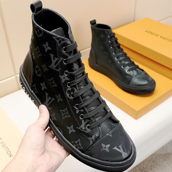 2019 High Quality Fashion Mens Sale Shoes High Top Male
