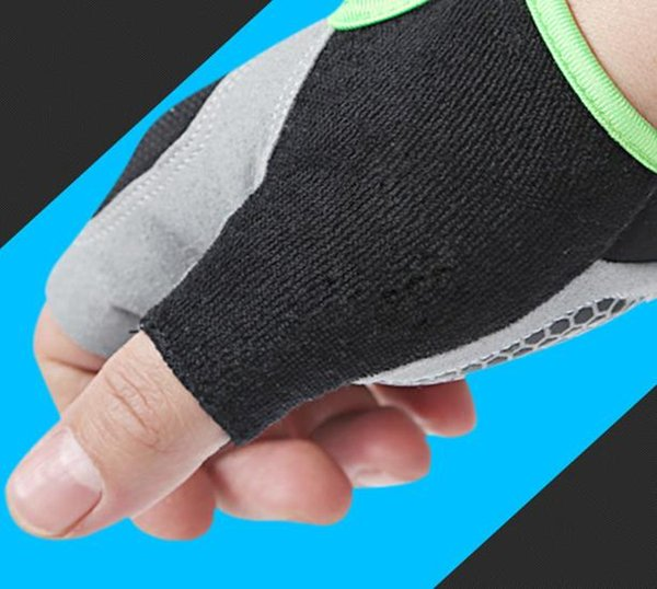 Spring and Summer Half-Finger Outdoor Sports Cycling Gloves for Men and Women Fitness, Skid-proof, Breath-proof and Sunscreen Gloves