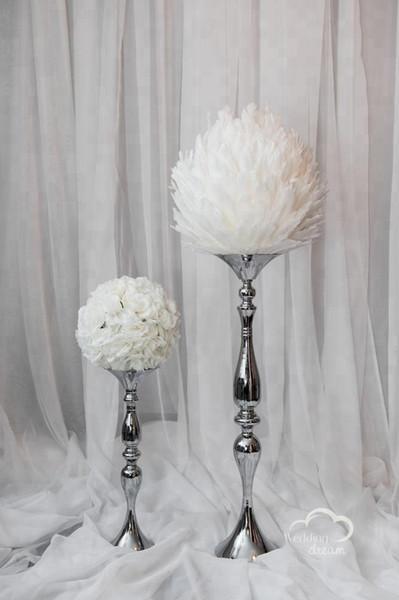 New Wedding decorative white cheap sale artificial flower ball centerpiece for event decor