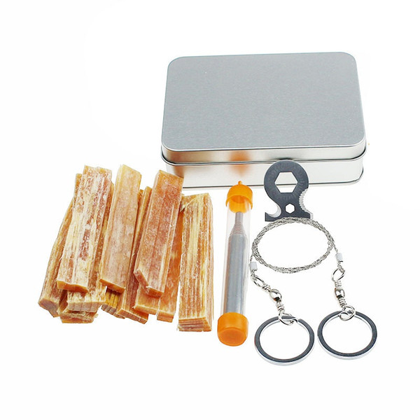 1 Set First Aid Box Supplies Outdoor Emergency SOS Kit Field Self-help Box For Survival Gear Tool Kits Camping Travel