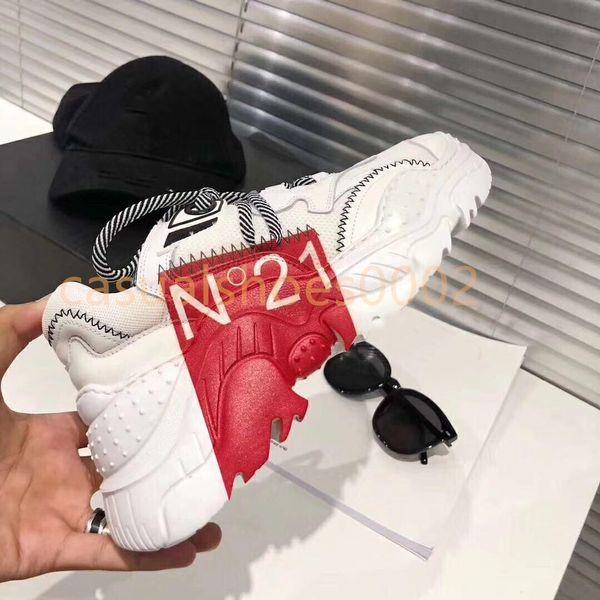 2019 Paris 17FW Triple-S кроссовки Fashion Luxury Designer Shoes Новый цвет папа туфли на платформе ретро женские кроссовки размер 34-40 T06