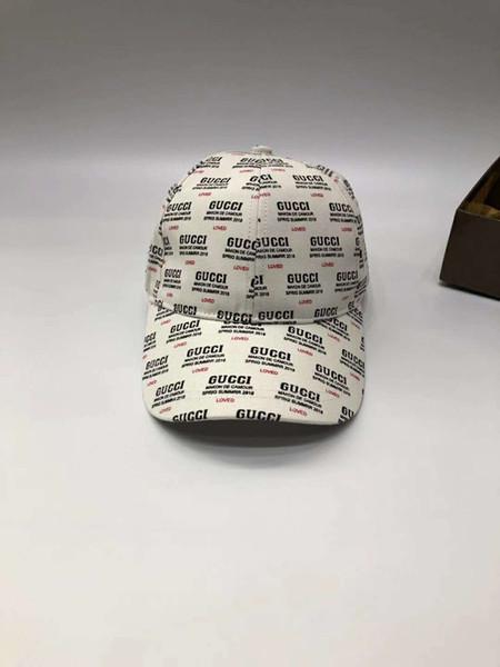 Designer de mode chapeaux casquettes hommes femme casquette de baseball de luxe logo lettre chérie impression chapeau réglable chapeau haute qualité blanc et boîte en option