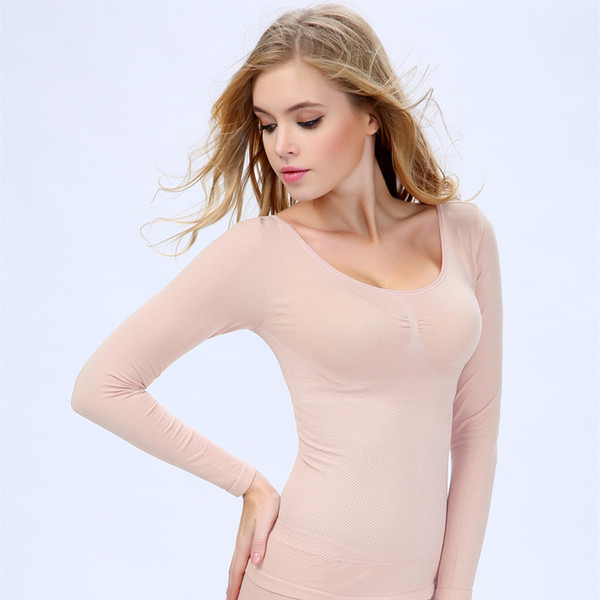 إمرأة مثير الأعلى الجبهة التفاف كم طويل أدنى قطعة Ruched وT قميص بلوزة 8996