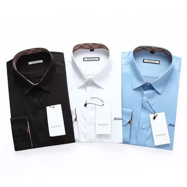 2019 nuevo de alta calidad colección camisa de la manera 0007