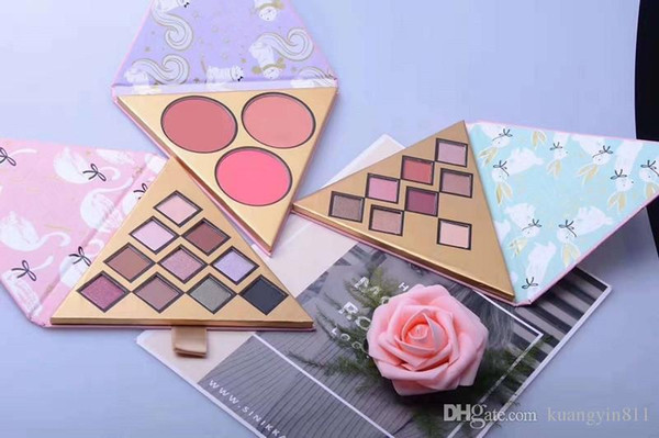 top popular Newest Bset Christmas Gift Makeup Brand Faced Beauty Under the Christmas Tree Eyeshadow Blush Palette Sex Mascara Full Set 4 in1 Set 2021