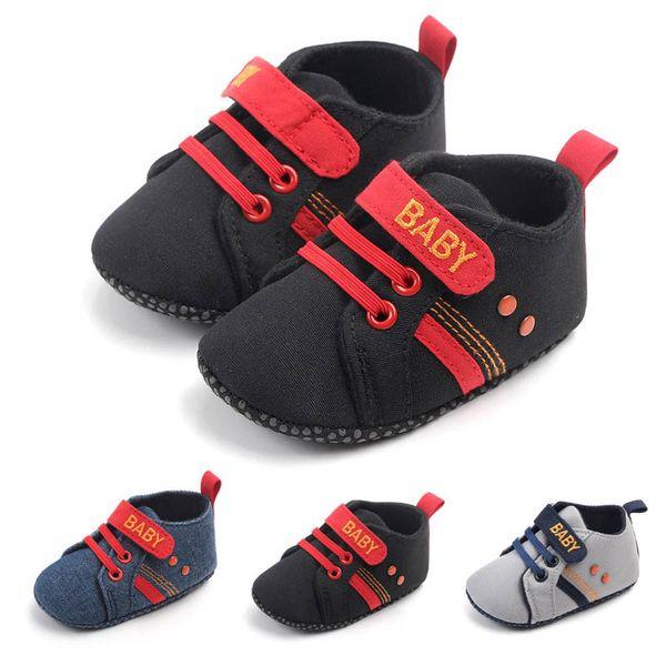 Neue Babyschuhe Kleinkindschuhe Babyschuhe Baby Turnschuhe Neugeborene Turnschuhe Mokassins Weiche Lauflernschuhe Designer Kinderschuhe A4966
