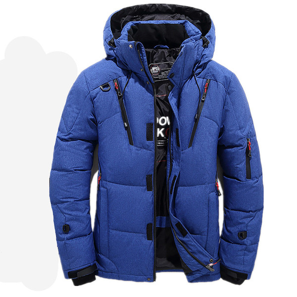 2018 High Quality 90% White Duck Thick Down Jacket men coat male Warm Brand Clothing winter Down Jacket Outerwear