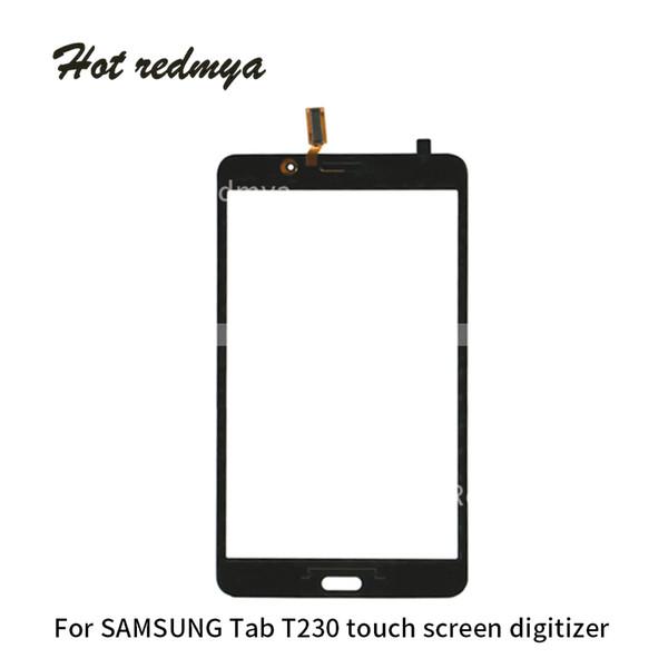 10 шт. / Лот Для Samsung Galaxy Tab 4 Lite 7.0 Wi-Fi Ver T230 3G Ver T231 Сенсорный Экран Панели Планшета Датчик Стеклянный Объектив Частей
