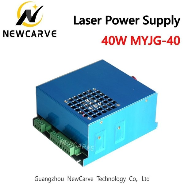40W Laser Power Supply For CO2 Laser Engraving Cutting Machine 35-50W MYJG-40