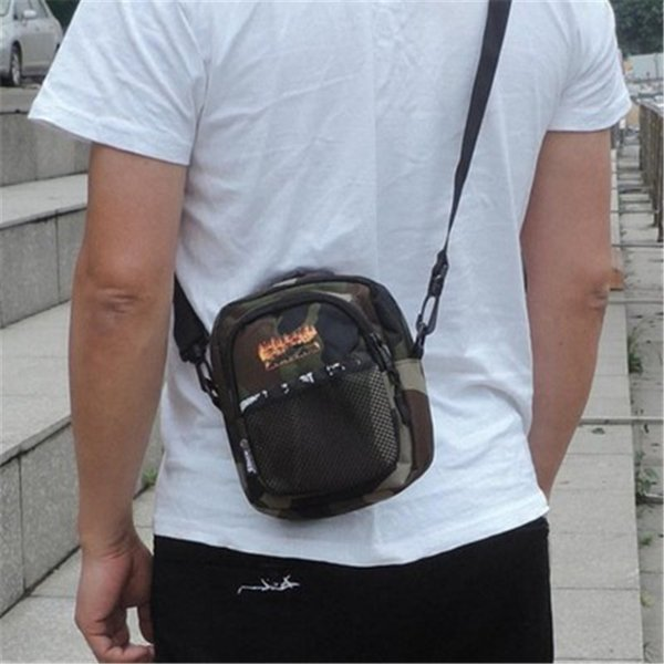 Повседневная сумка через плечо Спортивная сумка на одно плечо Модные мужские и женские маленькие сумки Модная сумка для груди Холст Сумки для подвешивания