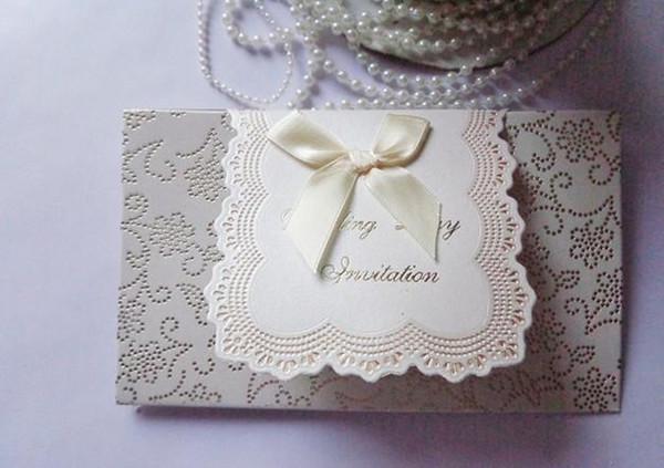 convites de casamento convites de casamento corte a laser cartões de convites de casamento Em Branco Com Envelope adesivo decorações do partido wang01