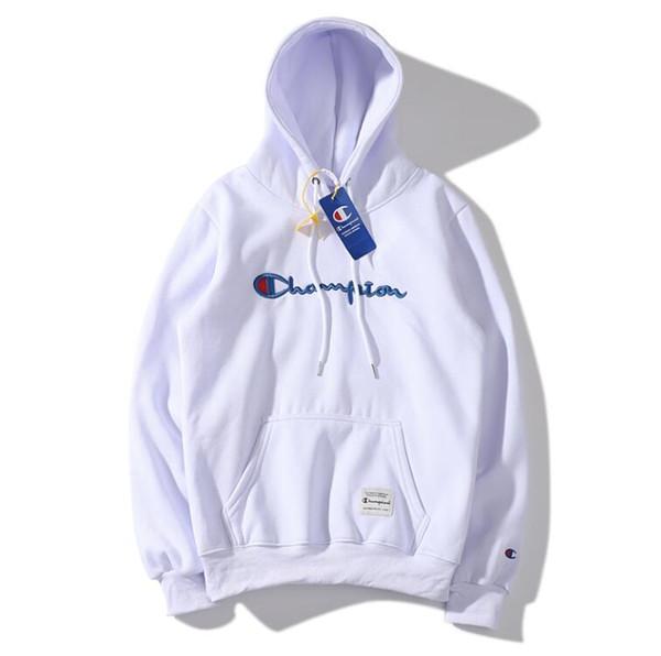 El más nuevo diseñador Hoodies para mujer para hombre con capucha sudadera estilo flojo moda marea de lujo suéter campeón tops con carta patrón de ropa