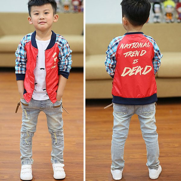 IENENS 5-10Y Boys Slim Straight Jeans Summer Classic Light Color Bottoms Children Denim Long Pants Kids Baby Boy Casual Trousers