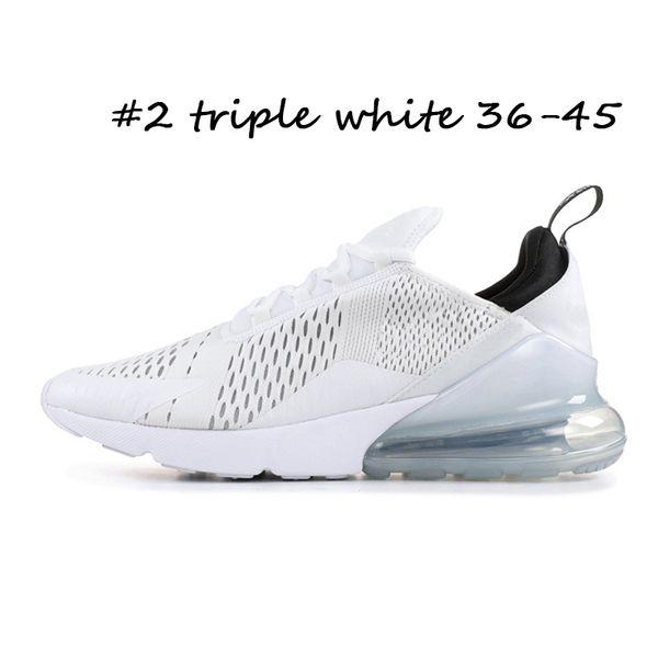 #2 triple white 36-45