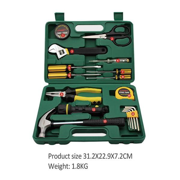 Набор ручных инструментов Ремонт бытовой техники Набор ручных инструментов Торцевая отвертка Нож с ящиком для инструментов