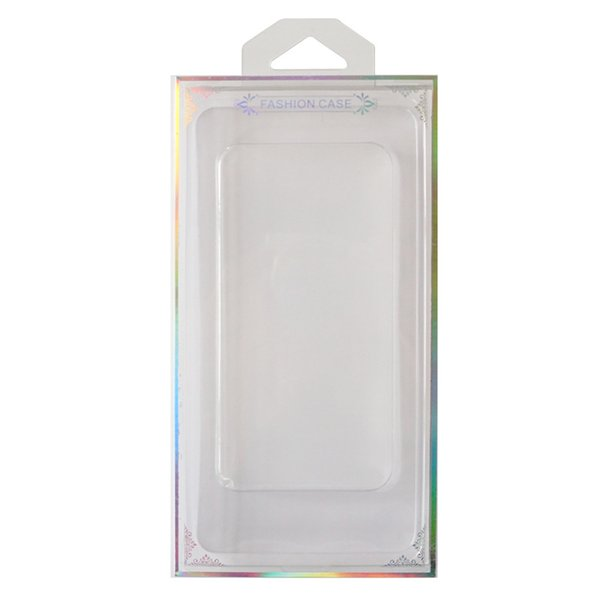 New Arrival Retail Packing Box For Phone Case Plastic Package Fit For 4.7/5.5 inches Slim Phone Cover With Cardboard