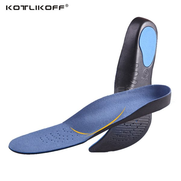 KOTLIKOFF Orthopedic Insoles 3D EVA Insoles Flat Feet Arch Support Shoe Inserts For Men/Women Shoes Orthotic insole foot pad