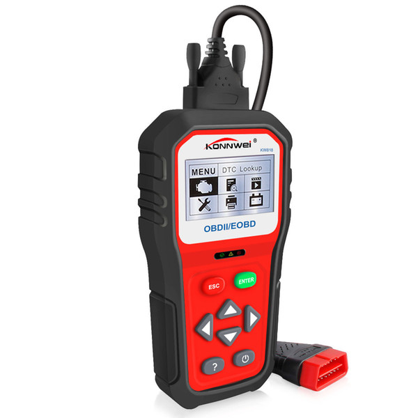 The latest KW808 KW820 upgrade version KONNWEI KW818 car fault diagnosis scanner