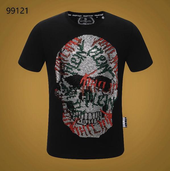 2020 NEW Hot Sale T-Shirt Men Shortsleeve Stretch Cotton Jersery Tee Men's Embroidery Tiger Printed Bird Snake Crew Collar T -Shirt #3608