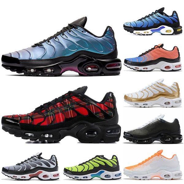 Nike air max Plus TN plus Freies Verschiffen neue Turnschuhe der Tn-Schuh-Männer Breathable Luft Cusion beschuht beiläufige laufende Schuhe neue Ankunft 33 Farben 41-46