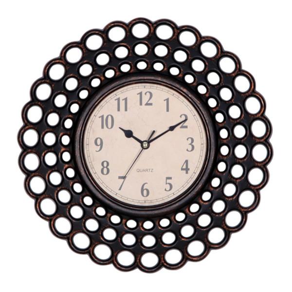 Европейский дом искусства кулон часы ретро 10 дюймов творческих кварцевые часы