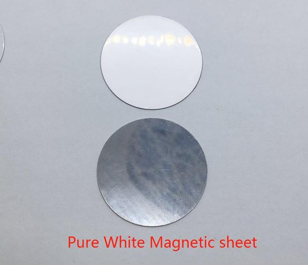 Pure White Magnetic sheet