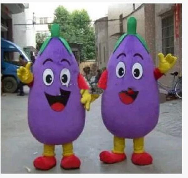 Corn eggplant pumpkin pepper cartoon dolls mascot costumes props costumes Halloween free shipping