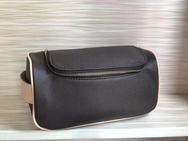 bolsa retangular de viagem feminino saco de cosmética novo designer de alta qualidade saco de cosmética único zíper lavagem saco de marca dos homens