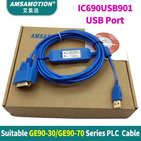 IC690ACC901 For GE90-30 GE90-70 Series PLC programming Cable PC To RS422 Adapter
