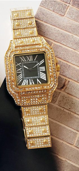 Carti Woman gold schwarz