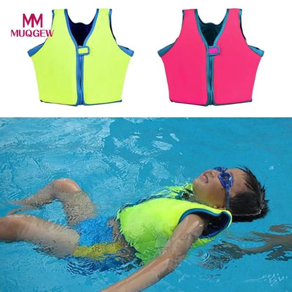 Natação Float Suit Swim Jacket Vest Vida maiô Jacket de frete grátis Buoyant Crianças Crianças para Crianças Segurança Útil 2018 NOVO
