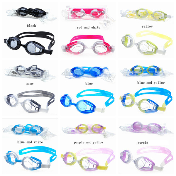 best selling Summer Adult Swimming Glasses Small And Exquisite Simplicity Anti-Wear Anti-Fog Waterproof Silicone Eco Friendly Glasses ZZA227