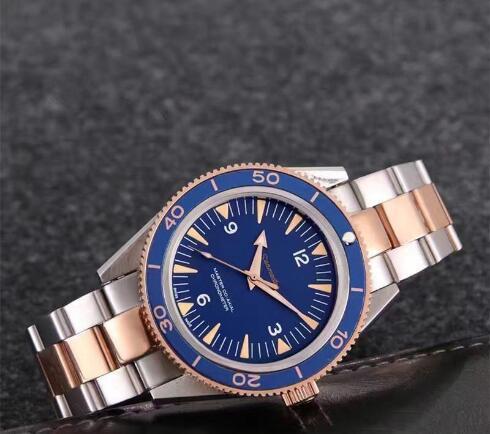 AquaTerra с автоподзаводом коаксиальный механизм James Bond 007 мужские деловые часы из нержавеющей стали 316 мужские наручные часы original