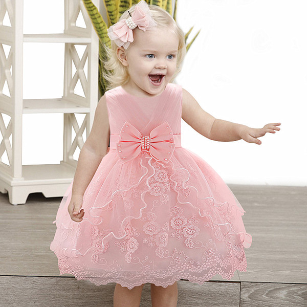 f0ad24f192b New Year Baby Girl Dress 0-24M 1 Years Baby Girls Birthday Dresses for  infant