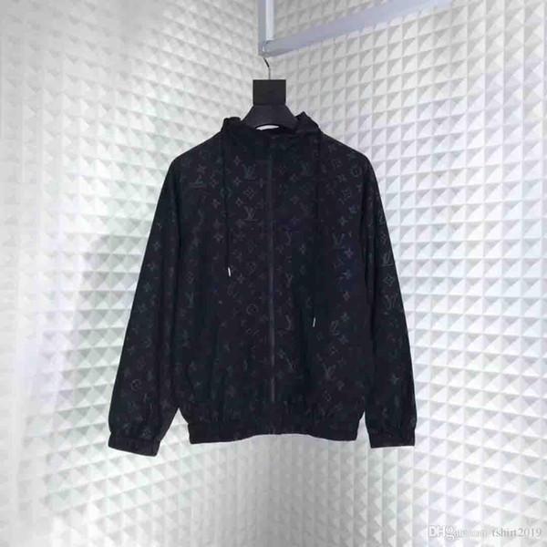 2019 Date SI veste haute qualité hommes hoodies sports de plein air tops casual hommes manteau mâle coupe-vent costume taille ## 888 ## 888